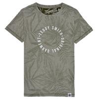 vaatteet Pojat Lyhythihainen t-paita Teddy Smith T-OTYS Khaki