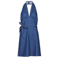 vaatteet Naiset Lyhyt mekko Molly Bracken EL902P21 Sininen