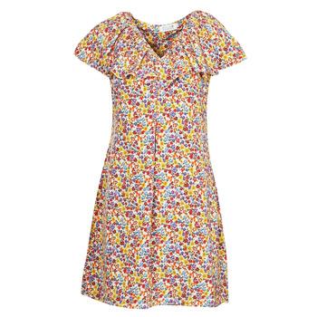 vaatteet Naiset Lyhyt mekko Molly Bracken P1387E21 Beige