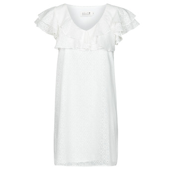 vaatteet Naiset Lyhyt mekko Molly Bracken LA700E21 Valkoinen