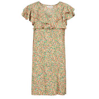 vaatteet Naiset Lyhyt mekko Molly Bracken LA171BP21 Monivärinen