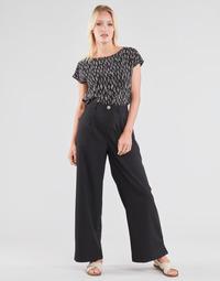 vaatteet Naiset Väljät housut / Haaremihousut Molly Bracken EF1424P21 Musta