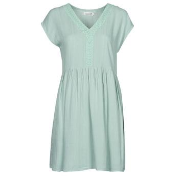 vaatteet Naiset Lyhyt mekko Molly Bracken G801E21 Vihreä / Clear