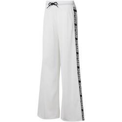 vaatteet Naiset Verryttelyhousut Reebok Sport DU4853 Valkoinen