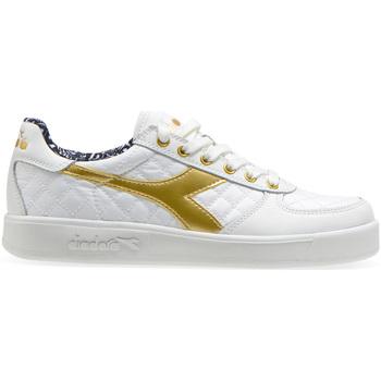 kengät Naiset Matalavartiset tennarit Diadora 501.175.495 Valkoinen
