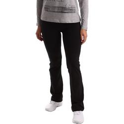 vaatteet Naiset Verryttelyhousut Key Up 5LI20 0001 Musta