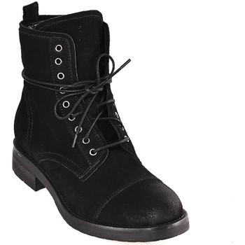 kengät Naiset Nilkkurit Mally 5038 Musta