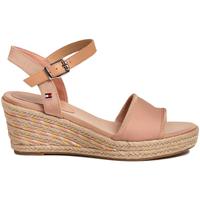 kengät Naiset Sandaalit ja avokkaat Tommy Hilfiger FW0FW04773 Vaaleanpunainen