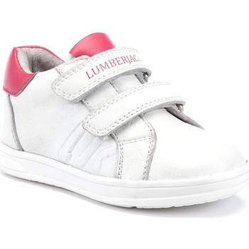 kengät Lapset Matalavartiset tennarit Lumberjack SG64912 003 B01 Valkoinen