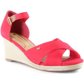 kengät Naiset Sandaalit ja avokkaat Wrangler WL01520A Vaaleanpunainen