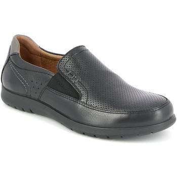 kengät Miehet Mokkasiinit Grunland SC4449 Musta