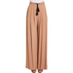 vaatteet Naiset Väljät housut / Haaremihousut Gaudi 011FD25019 Ruskea