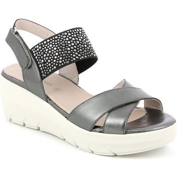kengät Naiset Sandaalit ja avokkaat Grunland SA1880 Musta