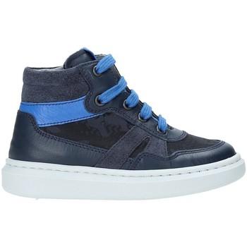 kengät Lapset Korkeavartiset tennarit NeroGiardini A923711M Sininen