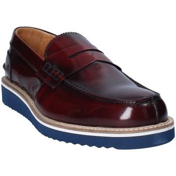 kengät Miehet Mokkasiinit Exton 5102 Ruskea