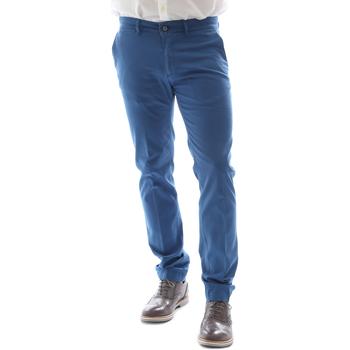vaatteet Miehet Chino-housut / Porkkanahousut Sei3sei 6DAYTONA E1649 Sininen