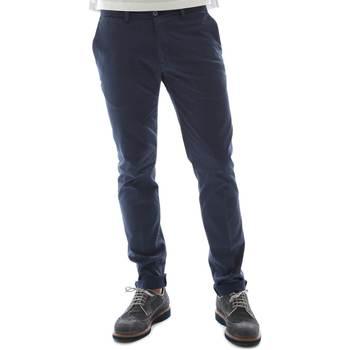 vaatteet Miehet Chino-housut / Porkkanahousut Sei3sei 6OYSTER E1669 Sininen
