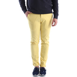 vaatteet Miehet Chino-housut / Porkkanahousut Sei3sei 6OYSTER E1648 Keltainen