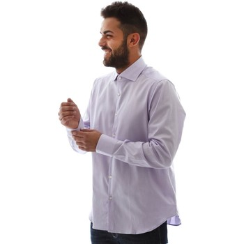 vaatteet Miehet Pitkähihainen paitapusero Gmf GMF5 4728 961105/04 Vaaleanpunainen
