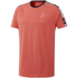 vaatteet Miehet Lyhythihainen t-paita Reebok Sport DT8145 Vaaleanpunainen