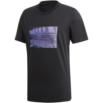 vaatteet Miehet Lyhythihainen t-paita adidas Originals DV2015 Musta