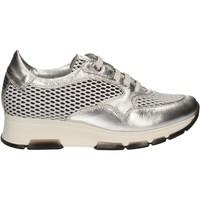 kengät Naiset Matalavartiset tennarit Keys 5181 Hopea