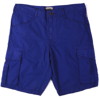 vaatteet Miehet Shortsit / Bermuda-shortsit Napapijri N0YHF6 Sininen