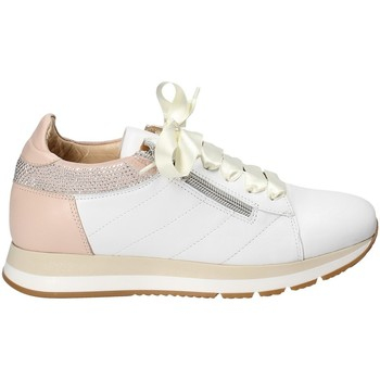 kengät Naiset Matalavartiset tennarit Exton E18 Valkoinen