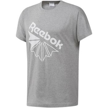 vaatteet Miehet Lyhythihainen t-paita Reebok Sport DT8213 Harmaa