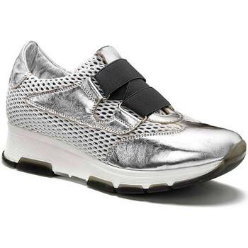 kengät Naiset Matalavartiset tennarit Keys 5183 Hopea