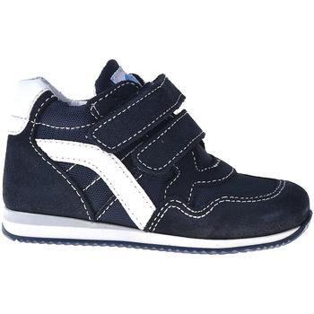 kengät Lapset Korkeavartiset tennarit Melania ME1097B7E.B Sininen
