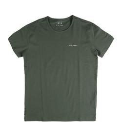 vaatteet Miehet Lyhythihainen t-paita Key Up 2G69S 0001 Vihreä