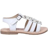 kengät Tytöt Sandaalit ja avokkaat Asso 65954 Valkoinen