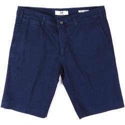 vaatteet Miehet Shortsit / Bermuda-shortsit Sei3sei PZV132 8137 Sininen