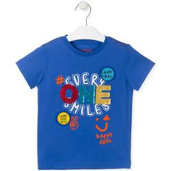 vaatteet Lapset Lyhythihainen t-paita Losan 015-1032AL Sininen