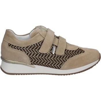 kengät Naiset Matalavartiset tennarit Keys 5003 Beige