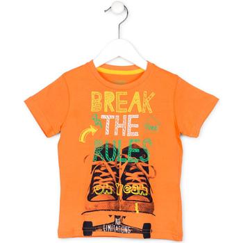 vaatteet Lapset Lyhythihainen t-paita Losan 715 1214AC Oranssi