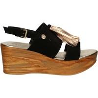 kengät Naiset Sandaalit ja avokkaat Byblos Blu 672213 Musta