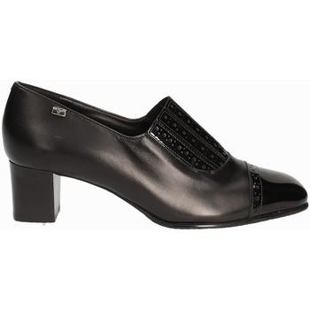 kengät Naiset Mokkasiinit Valleverde V12024 Musta