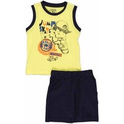 vaatteet Lapset Kokonaisuus Losan 815-8042AC Keltainen