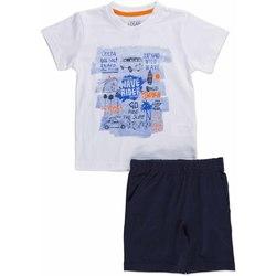 vaatteet Lapset Kokonaisuus Losan 815-8045AC Valkoinen