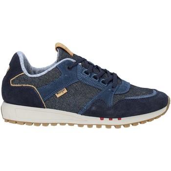 kengät Miehet Matalavartiset tennarit Wrangler WM91051A Sininen