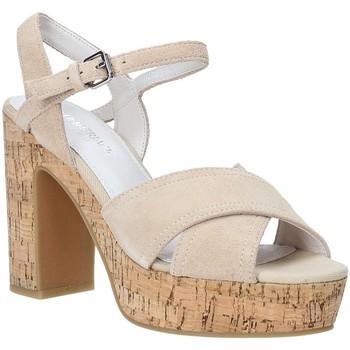 kengät Naiset Sandaalit ja avokkaat Lumberjack SW39906 002 A01 Beige