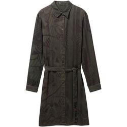 vaatteet Naiset Lyhyt mekko Desigual 19WWVW69 Vihreä