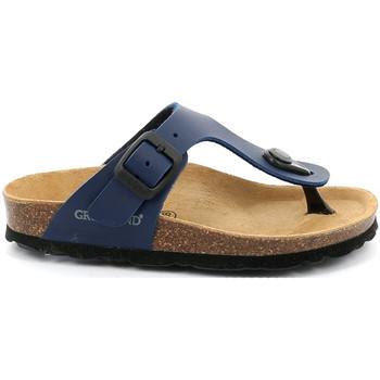 kengät Lapset Varvassandaalit Grunland CB0926 Sininen