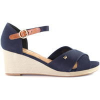 kengät Naiset Espadrillot Wrangler WL01520A Sininen