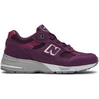 kengät Naiset Matalavartiset tennarit New Balance NBW991DNS Punainen