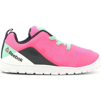 kengät Lapset Matalavartiset tennarit Reebok Sport V72559 Vaaleanpunainen