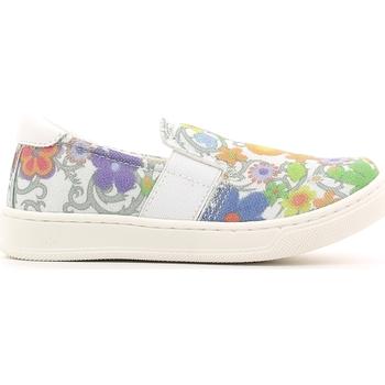 kengät Lapset Tennarit Crazy MK1063B6E.X Valkoinen