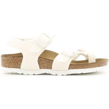 kengät Tytöt Sandaalit ja avokkaat Birkenstock 371593 Valkoinen